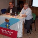Letras Galegas 2008 co escritor noies Maxi Olariaga
