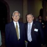 Xosé Neira Vilas co Presidente de CG Xosé Figueira